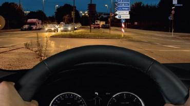 Ostře vidět, bezpečeně řídit