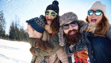 UV ochrana očí v zimě